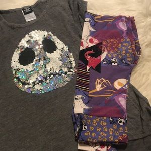 Girls nightmare before Christmas outfit